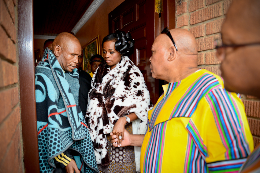 Traditional Wedding Held On A Rainy Day In Bloemfontein MC